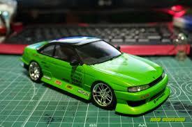nissan green green eye u0027d monsters nissan silvia s14 u0026 s15 u2013 elp modelling