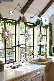 Christmas Wall And Window Decorations by Dreaming Simple Christmas Decorating All Through The House