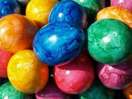 Decorating Easter Eggs With Rice And Food Coloring by Easter Decoration Ideas With Brightly Painted And Splendidly