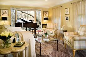 Placement Of Piano By The Bay Window - Furniture placement living room bay window