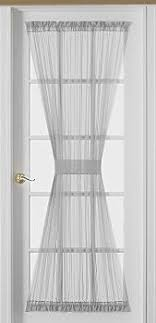 Door Panel Curtains Sheer Voile 72 Inch Door Curtain Panel White