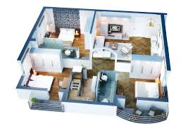 Floor Plan Of 3 Bedroom Flat 3 Bedroom Apartment U0026 House Plans Design Architecture And Art