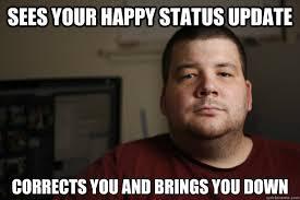 Facebook Friends Meme - negative facebook friend memes quickmeme