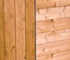 Shiplap Wood Cladding Shire Blenheim Shiplap Wooden Summerhouse With Bi Fold Doors