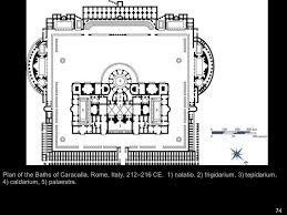 Baths Of Caracalla Floor Plan Ah 1 Ancient Rome Part 2