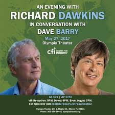 an evening with richard dawkins olympia theater