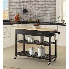 kitchen island trolley kitchen island trolley with open shelves black buy kitchen