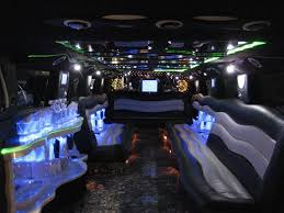 limousine hummer inside hummer limousine with pool big car