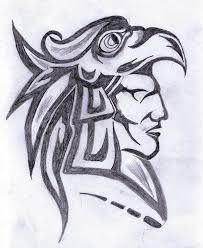 aztec drawings google search art pinterest aztec drawing