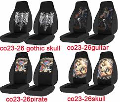 Ford F350 Truck Seat Covers - 05 12 ford ranger 60 40 high back car seat covers w skull wolf