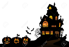haunted house silhouette royalty free cliparts vectors and stock