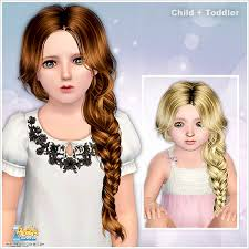 childs hairstyles sims 4 toddler child hair custom content caboodle page 7