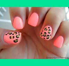 pink cheetah nails dajah c s photo beautylish
