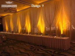 wedding drapery wedding draperies