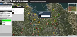 Desert Map New Black Desert Gathering Map Site General The Black Desert