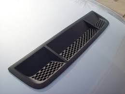 Hood Vents Adding Gt500 Heat Extractor To 2012 V6 Hood The Mustang Source