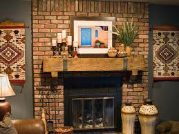 fireplace mantel decor ideas home frantic brick wall fireplace mantle decoration ideas that can be