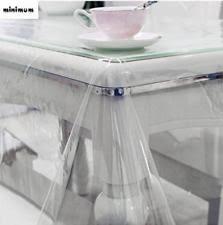 clear vinyl table protector clear vinyl tablecloth heavy duty plastic pvc table cover protector