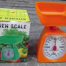 Timbangan Duduk Plastik sell kitchen scale 2 kg capacity from indonesia by ud selatan jaya