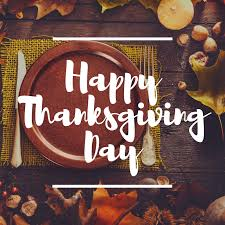 happy thanksgiving to all of our patients and their families