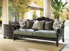 Tommy Bahama Sofa by Royal Kahala Edgewater Rolled Arm Sofa With Nailhead Trim By Tommy