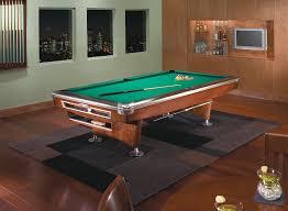 brunswick gold crown v 9 ft pool table