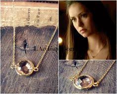 the vampire diaries crescent necklace wish list pinterest