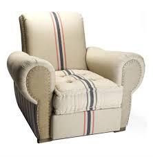 Linen Club Chair Bristol Linen Rustic Men U0027s Room English Club Chair Kathy Kuo