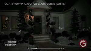 Led Christmas Light Projector by Gemmy Led Kaleidoscope Spotlight Swirling White Snowflake Lights