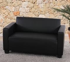 couch schwarz grau sofa couch lyon loungesofa kunstleder schwarz