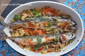 cuisiner le maquereau au four maquereaux aux légumes recette minceur
