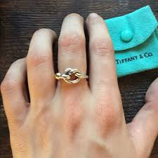 love rings tiffany images Tiffany co jewelry tiffany co love knot ring ss 18k gold jpg
