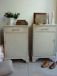 vintage french style shabby chic bedside cabinets tables ebay