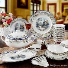 eco friendly sale new year bone china porcelain tableware