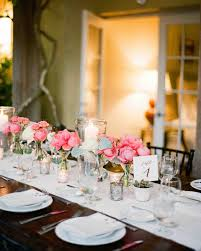 Small Centerpieces A Romantic Pink And Brown Outdoor Hotel Wedding In Florida
