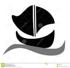 black and white boat stock photo image 50865093