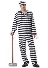 inmate halloween costume prisoner uniform convict costumes