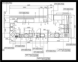 modern kitchen floor plan kitchen planning guidelines design and decorating ideas pt3 cad