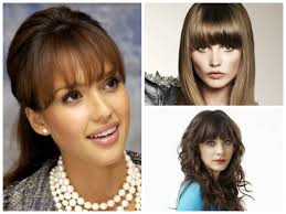 the best bang hairstyles for oval face shapes women hairstyles