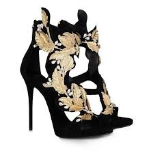 summer golden wings leaf strappy dress sandals silver gold