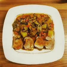 cuisiner le filet mignon de porc en cocotte filet mignon de porc aux légumes en cocotte minute recette de
