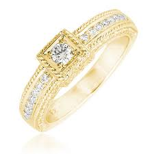 gold wedding ring designs 0 22ct f i1 square design diamond ring withmicro setting