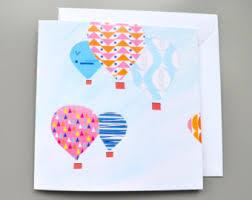 balloon card etsy