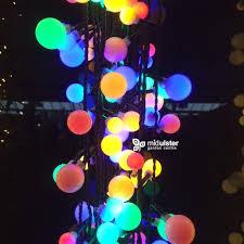 lumineo led mixed berry lights multicolour lights 240 lights