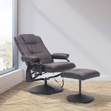 siege massant chauffant homcom fauteuil massant chauffant et vibrant électrique inclinable