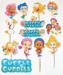 Bubble Guppies Decorations Bubble Guppies Cake Ebay