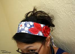 fabric headband fast and easy scrappy fabric headband tutorial gun ramblings