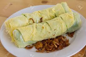insert cuisine delicious food egg roll wrap insert pork grind