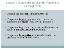 scientific notation chapter 4 section 3 ppt download