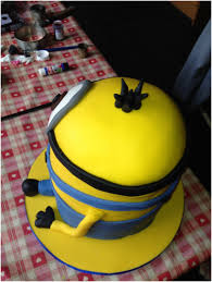 How To Make A Despicable Me Minion Birthday Cake Dna Kids